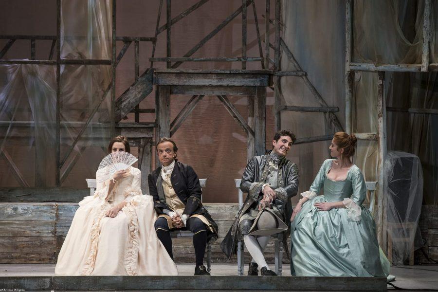 La vedova scaltra - Carlo Goldoni - Teatro Duse