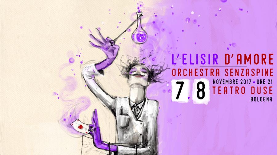 L'elisir d'amore - Orchestra Senzaspine - Teatro Duse Bologna