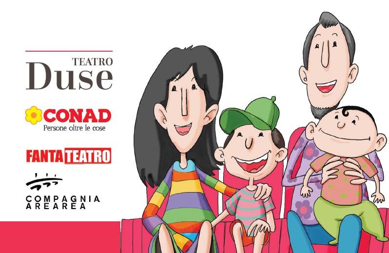 Bimbi al DUSE con CONAD - Teatro Duse