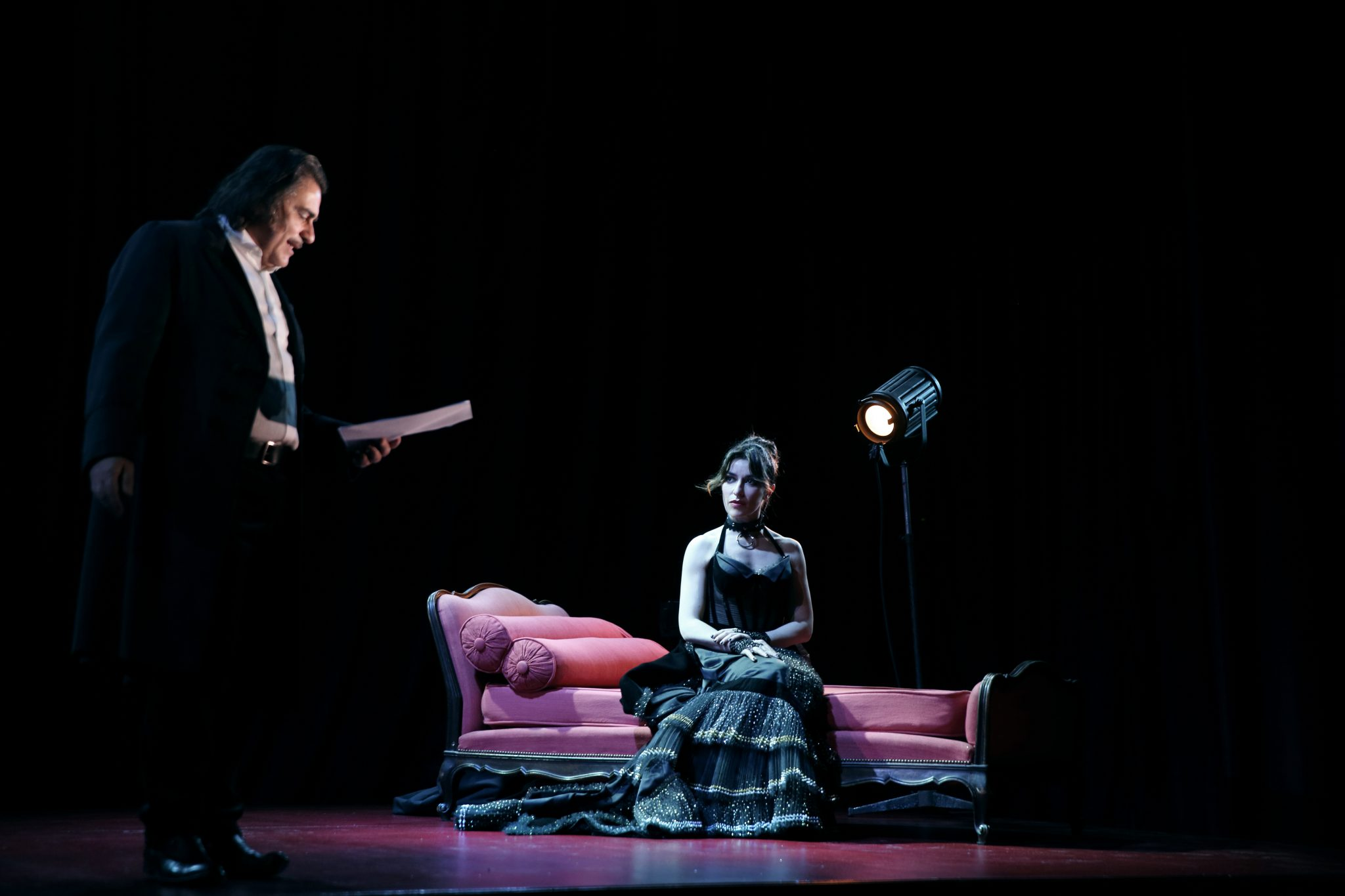 Venere in pelliccia - Sabrina Impacciatore - Teatro Duse
