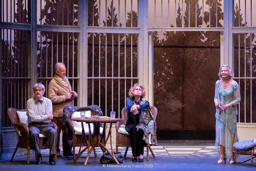 Quartet | Erica Blanc e Giuseppe Pambieri - Teatro Duse Bologna
