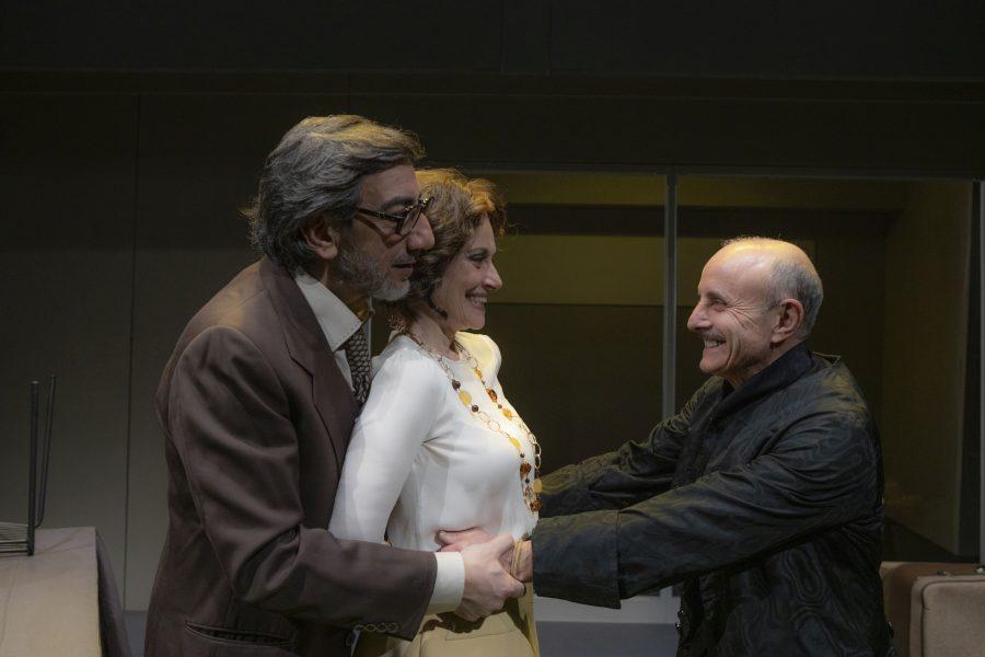 Tartufo - Valerio, Cederna, Sperlì - al Teatro Duse