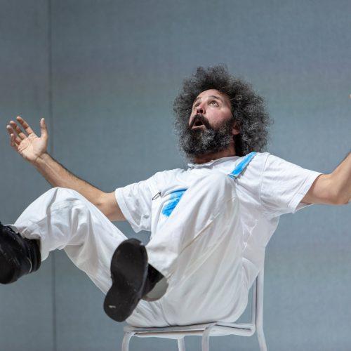 Simone Cristicchi - Manuale di volo per uomo - Teatro Duse