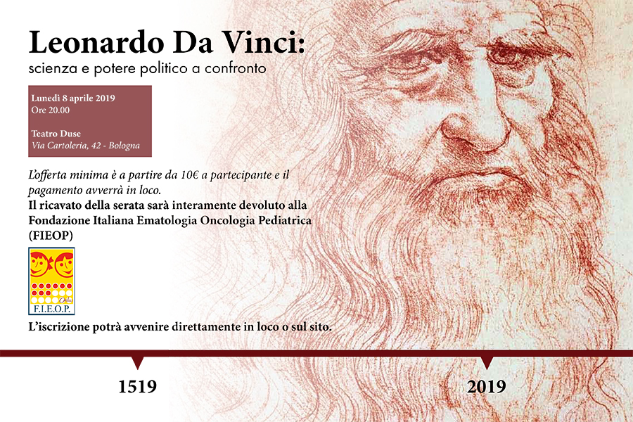 Leonardo Da Vinci: scienza e potere politico a confronto - Teatro Duse Bologna