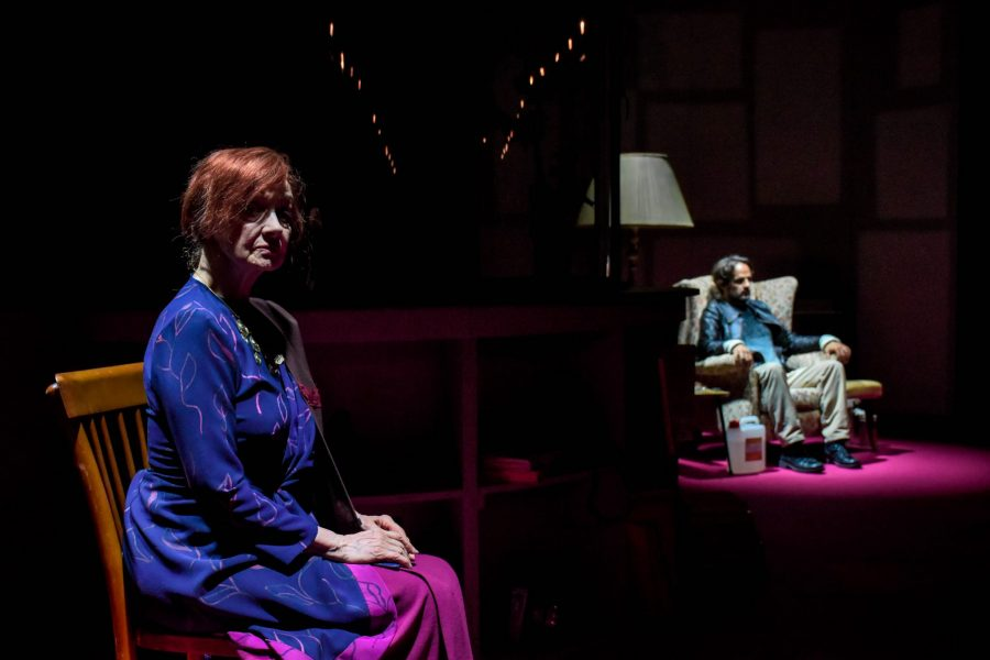 Un autunno di fuoco | Milena Vukotic e Maximilian Nisi - Teatro Duse