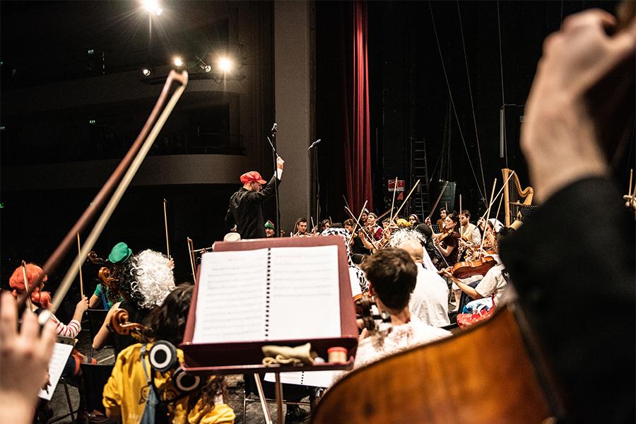 Filmusic | Orchestra Senzaspine - Teatro Duse Bologna