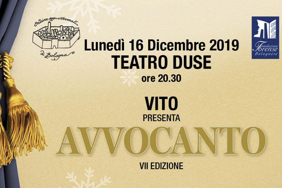 Avvocanto VII edizione - al Teatro Duse